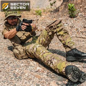 Sector Seven ix2 camouflage imperméable guerre tactique jeu pantalon cargo mens pantalon armée militaire actif 200930