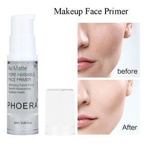 PHOERA Isolation Face Primer Foundation Primer Base 6ML Moisturizer All Matte Pores Oil-control Make Up Cream Foundation Primer