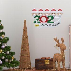 Christmas Stickers Santa Claus Sticker for Kids Survivor Family Stickers Christmas Decorations for Tags Crafts Window 1Set 4pcs GWE2347