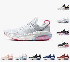 Alta calidad 2021 Nuevo Joyride Run FK Mens Womens Running Shoes Triple Black White Platinum Racer Blue Designers Sports Sneakers Utility