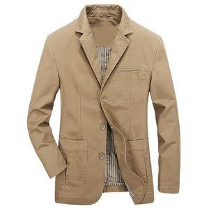 European Style Mens Anzug Jacke und Mäntel beiläufige dünne Khaki Suede Mäntel Fashion Frühling und Sommer Man Street Europäische A733