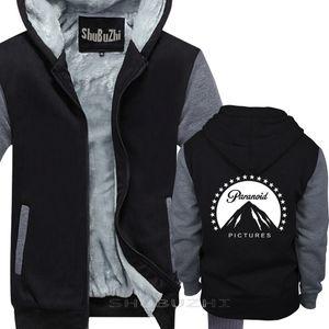 Banksy Paranoid Pictures Mens Black thick jacket Graffiti Art men black pullover winter autumn fashion male thick hoodie sbz5377 X1022
