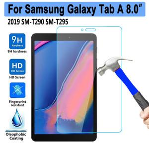 삼성 갤럭시 탭에 대한 9H 강화 유리 A 8 2019 8.0 SM-T290 SM-T295 T290 T295 스크린 프로텍터 0.3mm 태블릿 보호 필름