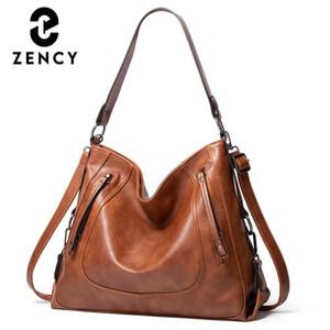 ZECTENT Многофункциональная большая емкость Женский HOBOS Мягкая искусственная кожаная сумка Anti-Traft Высококачественная женская сумка для женщин