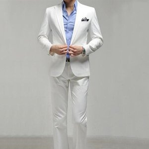 Hot Sale Fashion Mens Elegant Wedding Suits High Quality Slim Fit Business Formal Dress Suit For Men (Jacket+Pants)
