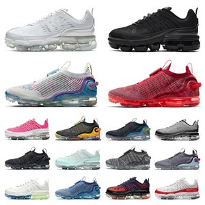 zapatos tenis nike air vapormax 2020 flyknit vapor max 360 tn plus Zapatillas de correr Hombres Mujeres Triple Negro Blanco Rojo Rosa Entrenadores Hombres Zapatillas deportivas