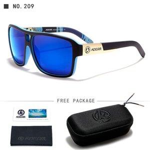 Hommes Sport Hard Polarized Kdeam Jam Intensité Brand Sunglasses Sun Home003 Verres de boîtier Reflétant avec Noir Sqcayd High URQCB