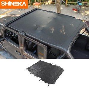 Couvertures de voiture Couverture Shineka pour Wrangler JL 2021+ Accessoires Toit souple en cuir 2021 Accessoires1