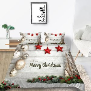 High End Bedding Set Christmas Decoration Soft 3D Duvet Cover Queen King Twin Double Full Single Double Bed Set Pillowcase