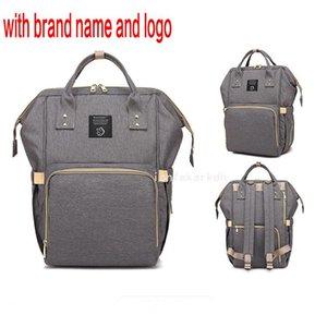 Bag Maternity QiM+f Fashion Backpack Stroller Large Diaper Travel Bag Baby Nursing Backpack Baby Mummy Nappy Care Designer QYNF Vrjsu Ohnww