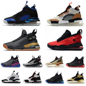 Nike Air max Jordan 720 shoes 2019 Scarpe da pallacanestro da uomo in platino puro Black Bred Gym Rosso Neon Gradient Pale Ivory bianco nero uomo sneakers sportive sneaker 7-12