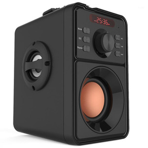 High Power Bluetooth Speaker Super Bass Portable Column Subwoofer Music Center Support AUX TF FM Radio Bluetooth Column Boom box1