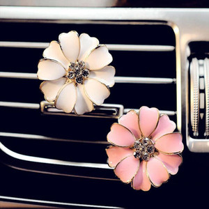 Car Perfume Clip Home Essential Oil Diffuser For Car Outlet Locket Clips Flower Auto Air Freshener Conditioning Vent Clip