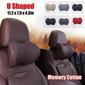 1 Pcs Car Headrest Travel Rest Neck Pillow Space Memory Cotton Neck Pad For Kids And Adults U Shaped Pillow Auto Parts
