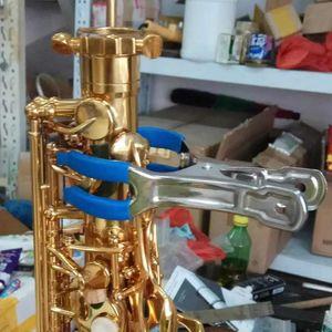 Saxophone eight-piece maintenance tool set.