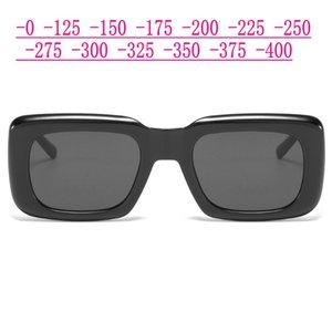 2021 New Myopie Prescription Sonnenbrillen Herren Optische polarisierte grau Objektiv Sonnenbrillen Frauen Platz Prescription Eyewear UV400 NX