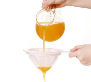 Sıcak Ev Yemek 120/200/400 Mesh Mutfak Ultra-ince Örgü Süzgeç Mutfak Naylon Örgü Filtre Kaşık Soya Sütü Kahve Süt Yoğurt için Uygun
