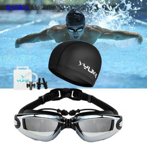 2020 New Swimming Goggles Anti-Fog Breaking UV Adjustable Swim Eyewear Men Women Waterproof Silicone Glasses Adult Eyewear1