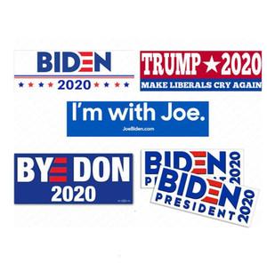 Biden Joe for President 2020 Campaign Bumper Sticker Donald Trump Car Stickers PVC Decals USA American PresidenD62903