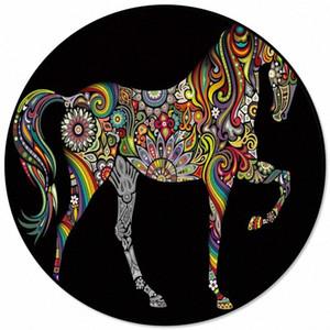 Renk At Sanat Ana Salon Yuvarlak Kilim İçin Çocuk Odaları Kaymaz Mohawk Halı Mohawk Halı Pri biUS # İçin Desen Kilimler Ve Halılar