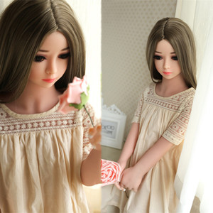 ACSMSI-real silicone sex dolls robot 125cm japanese anime love doll realistic toys life for men full big breast sexy mini vagina