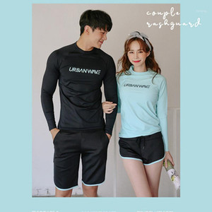 Ternos mulher mulher sexy biquini womens womens wear korea swimwear plus size rash guard swimsuit mulheres mulheres surfando casal cobrindo1