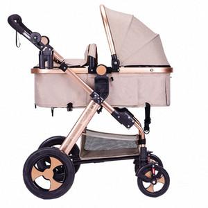 2020Luxury 3 в 1 Детская коляска High Landscape Детские Carrier Big Space для 0-36 месяцев Автокресло ksKb #