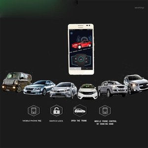 PKE AutoSignal Starline Car Security Alarm Auto Starline A93 نظام دخول بدون مفتاح إنذار سيارة عن بعد بدء قفل المركزي 1