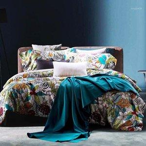 Euro colcha Rey Juego de ropa de cama Duvet Funda Queen Cama de placer de alta calidad Roma Edredón Cubierta 1