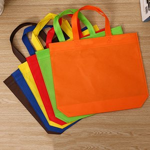 Women Foldable Shopping Bag Reusable Eco Large Unisex Fabric Non-woven Shoulder Bags Tote grocery cloth Bags Pouch
