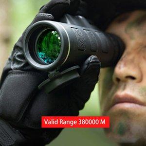 Kabin 201106 için SmartPhone Tutucu ile Teleskop Monoküler 40x60 Yakınlaştırma Monocular Dürbünler Temizle Zayıf Gece Görüş Cep Teleskop