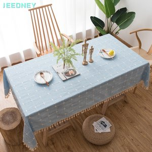 Linen Tablecloth Dining Table Cloth Clothes Cloths Desk Cover Rectangular for Table Decoration Manteles De Mesa Rectangular LJ201223