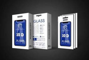 11D Tempered Glass For phone 12 11 Pro Max XR XS Full Cover Edge Screen Protector For Samsung A50 A60 A70 A70s 10 in 1 With Retail Package
