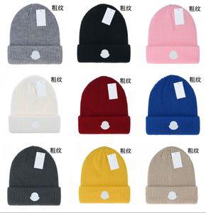 الشتاء العلامات التجارية قبعة الرجال النساء واحدة الجنس الترفيه الحياكة بيني بيني سترة رئيس غطاء قبعة عشاق في الهواء الطلق أزياء الشتاء محبوك القبعات باركا