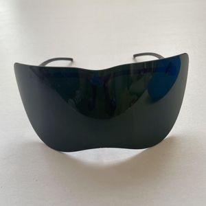 쉴드 오토바이 고글 UV400 안티 도촬 거울 안티 UV 선글라스 페이스 가드 절반 안경 일 1 개 bbyQxD yhshop2010