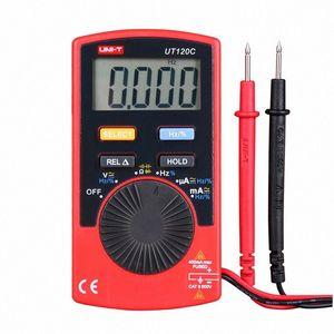 UNI-T UT120C Ultra-portable Auto Ranging Auto-off Digital Multimeter Capacitance, Resistance, AC DC Current Voltage Meter Tester SIcC#