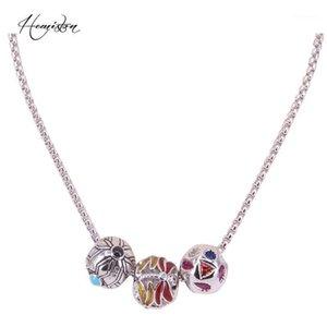 Collana per perle colorate arabesque Hemiston, -Necklace regalo gioielli Bijoux per donne e uomini -N201
