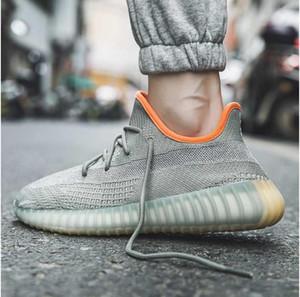 Marca Luz verde sapatilhas ocasionais confortáveis tricô sapatos para homens antiderrapante alta QualityMens Designer Shoes zapatillas hombre