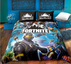 Fortnite4 complete bed Set, Children's original bedding, Super soft, anti-fading microfiber
