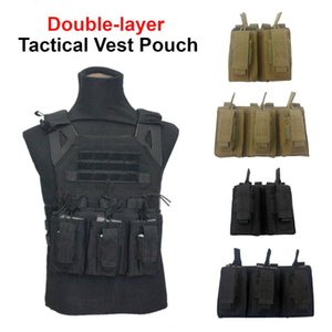 Tactical Vest Pouch Gear Pack Magazine Pouch Holster Molle System Waist Bag Multifunctional Accessory Package