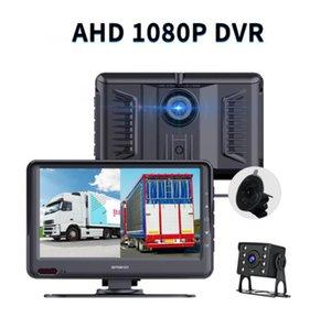 AHD 1080P 7 inch Truck DVR Monitor Driving Recorder Dual Installatin location Windshield, center console car dvr