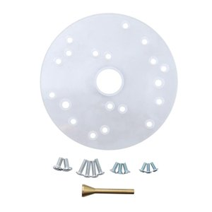 Acrylic Router Universal Base Plate with Centering Pin fits for :690 series 7529 8529
