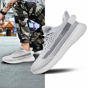 Kjedgb nuovo ultraleggero scarpe da uomo traspirante uomo estate confortevole da uomo sneakers adulto maschio tennis scarpe da tennis scarpe da grande dimensioni LJ201124