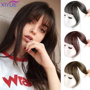 Xiyue resistente alle alte temperature fibra sintetica periwig francese air bangs ultra-sottile senza traccia carino ragazza dolce ragazza multicolor nuovo stile