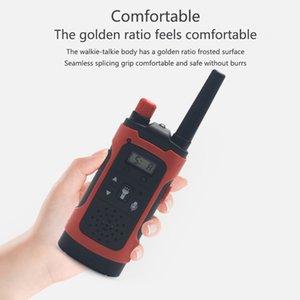 Mini Çocuk Walkie Talkies Oyuncak Çocuk Elektronik Radyo Ses Interkom Oyuncak Açık LCD Ekran Walkie Talkies Oyuncak
