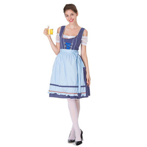 Thème Halloween Cosplay Vêtements Beer Costumes Girl Dress Adult Noël Get Together Party Vêtements