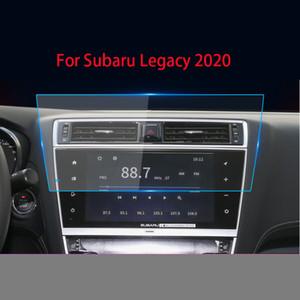 소바루 레거시를위한 원래 GPS 자동차 네비게이션 강철 2018 2020 중앙 제어 LCD 스크린 유리 강화 HD 보호 필름