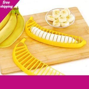 Banana Cutter Banana Slicer Fruit Splitter Kitchen Tools DIY Fruit Salad Slicer Creative Home Kitchen Tool Free DHL