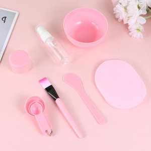 Beauty 1 27 Set PC FAI DA TE (Pin Mask Face Mishing Makeup Fai da te Facemask Riutilizzabile Bowl Kit Tools Mixing Tool Mask Set Bowl 1 di medie dimensioni EthCi