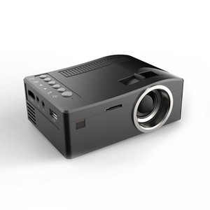 New Unic UC18 Mini LED Projector Portable Pocket Projectors Multi-media Player Home Theater Game Supports HDMI USB